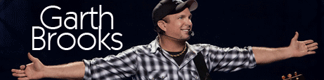 Garth Brooks 2014-2015 live
