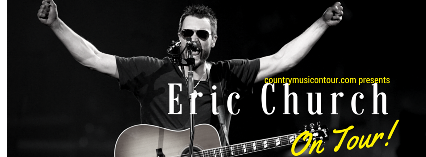 Eric Church Concert Tour Tickets