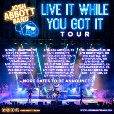 Josh Abbott Band Tour by Country Music On Tour