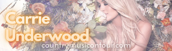 Find Carrie Underwood tickets at CountryMusicOnTour!