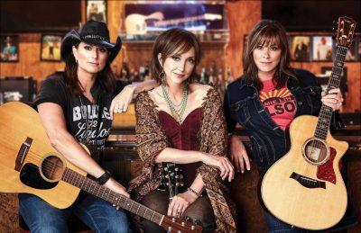 Terri Clark, Pam Tillis, and Suzy Bogguss on tour together!