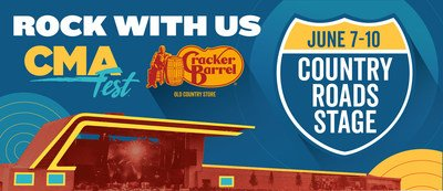 CMA Cracker Barrel Stage