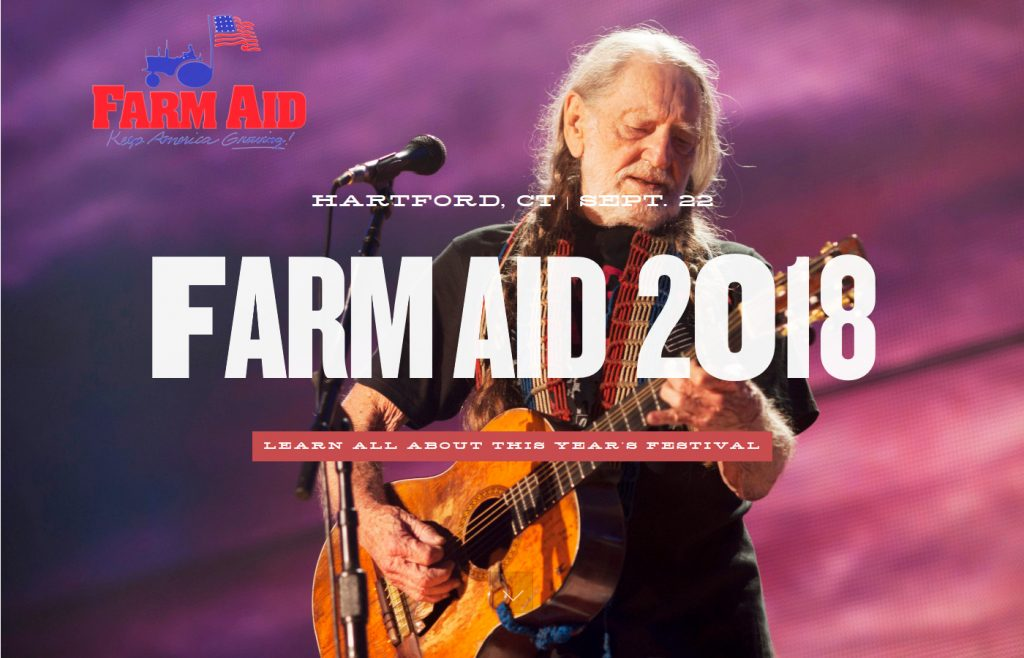 Farm Aid Festival Feat. Willie Nelson, Chris Stapleton. Kacey Musgraves