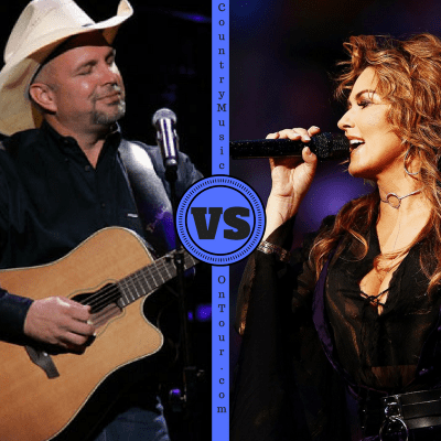 Garth Brooks and Shania Twain Battle For Tour Dates