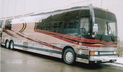 George Strait Bus On Tour