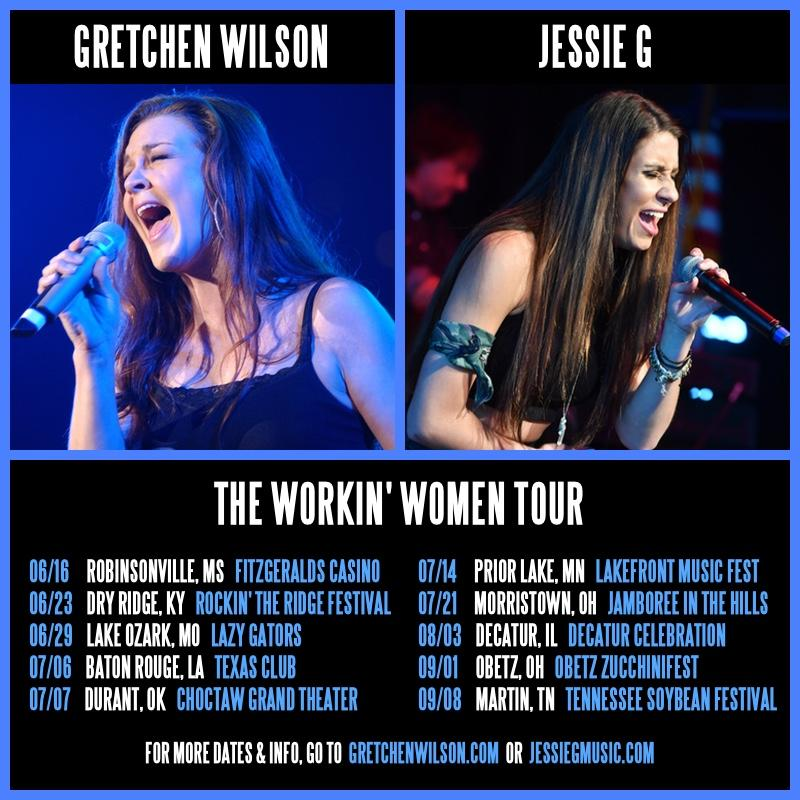 Gretchen Wilson 2018 Tour