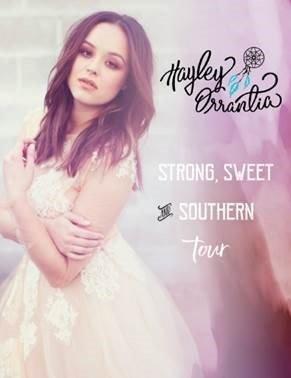 Hayley Orrantia Tour News