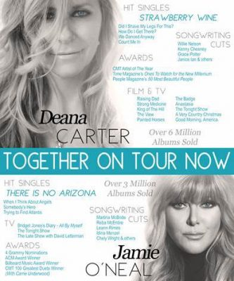 Jamie ONeal and Deana Carter Tour