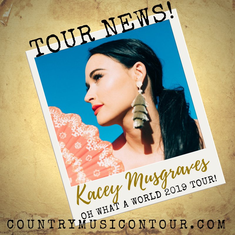 Kacey Musgraves Oh What A World 2019 TOUR
