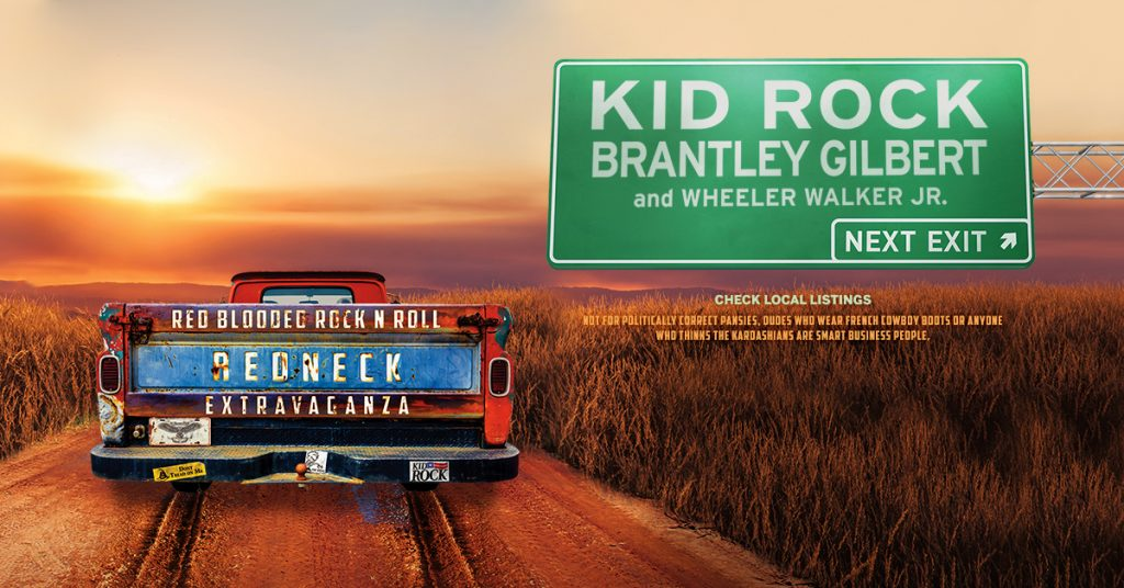 Kid Rock 2018 Tour