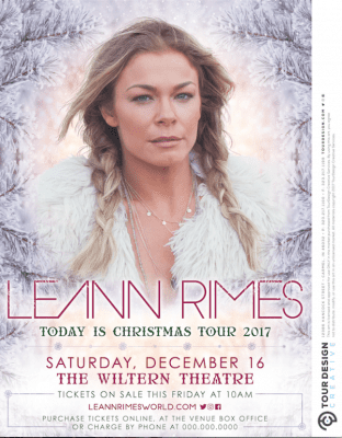 LeAnn Rimes Christmas Concert on Country Music on Tour