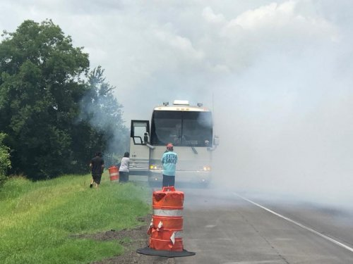 Shenandoah Tour Bus Fire