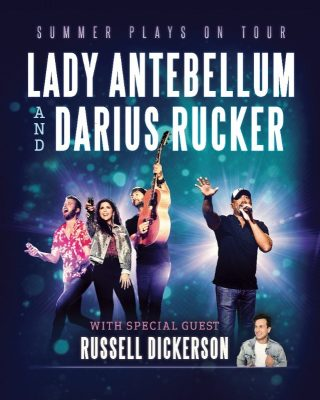 Darius Rucker and Lady Antebellum Tour Dates