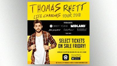 THomas Rhett Tour News