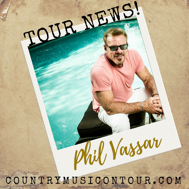 Phil Vassar Tour News